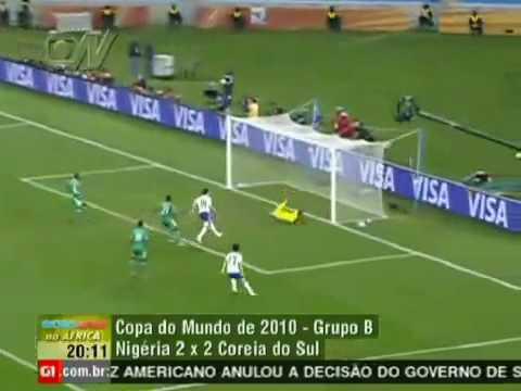 World Cup 2010 - South Korea vs Nigeria (2-2) goals