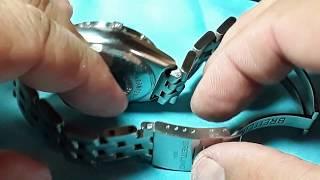 How to Resize a Breiтling Pilot Bracelet