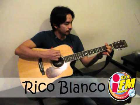 """Your Universe"" by Rico Blanco, LIVE Acoustic @ 93.9 iFM Manila!"