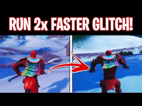 How To RUN 2x FASTER In Fortnite Season 8! (Easy Speed Glitch)