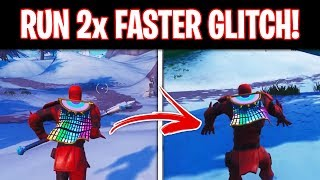 How to RUN 2x FASTER in Fortnite Season 8! (Easy Speed Glitch)