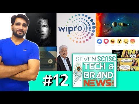 News 12: Sachin Srt.phone, Wipro new logo, China wikipedia, Nasa's sofia, Jio dth Stb