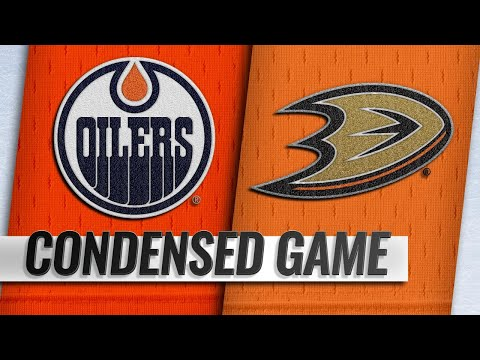 01/06/19 Condensed Game: Oilers @ Ducks