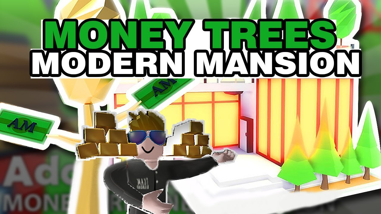 Adopt Me MONEY TREE Update & MODERN MANSION + House Tours (Roblox)