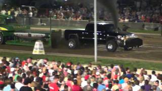 Full Pull Productions, Canfield, Oh, Pro Stock Diesel, 9/3/11