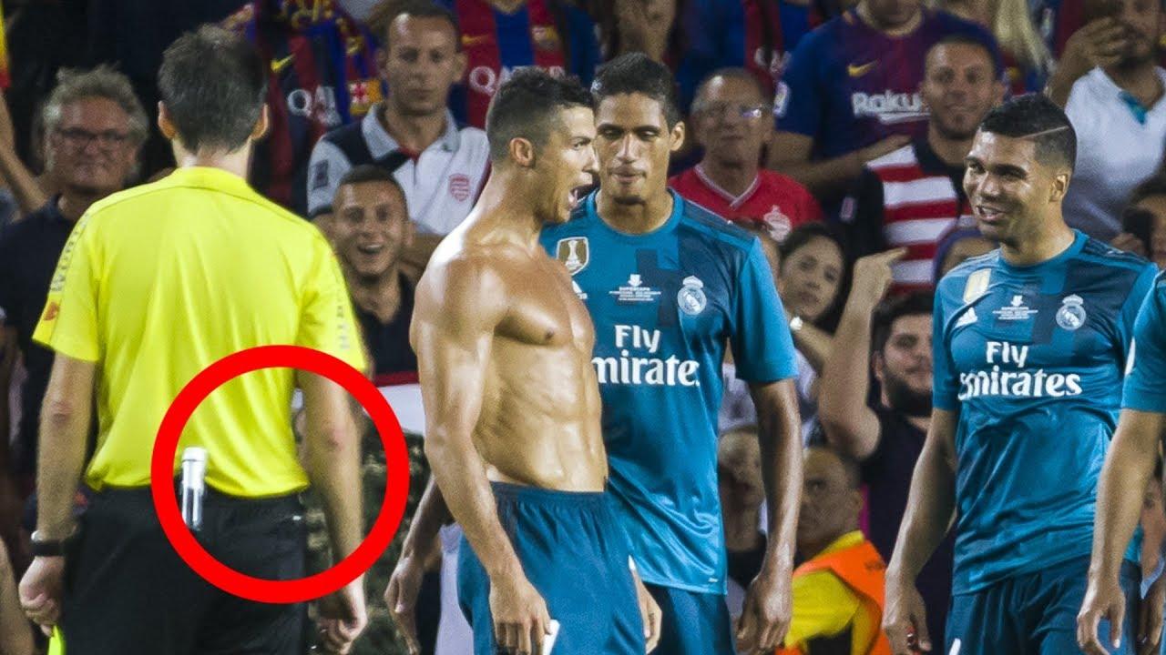 ronaldo rote karte video Wenn Cristiano Ronaldo ausrastet.. Rote Karte gegen Barcelona