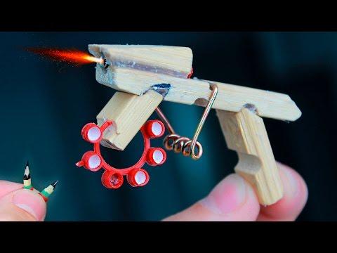видео: Как сделать мини стреляющий АК 47/how to make a mini firing АК 47