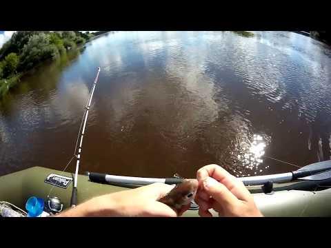 рыбалка на волге ловля с лодки видео