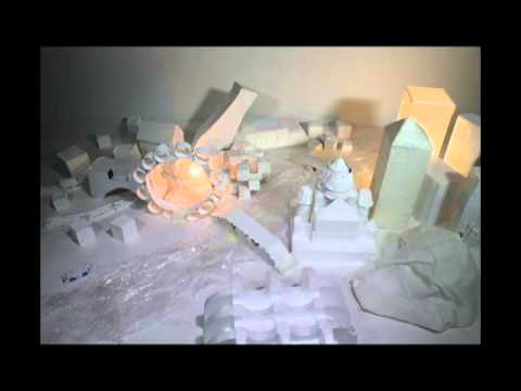 "Stop motion animation ""One day in a city"", ArtCinema, film school for kids, Montreal"