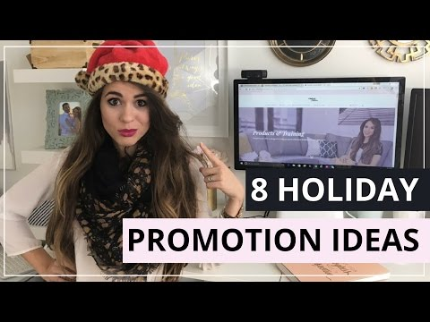 8 Ideas To Run A Holiday Promotion For Your Online Business