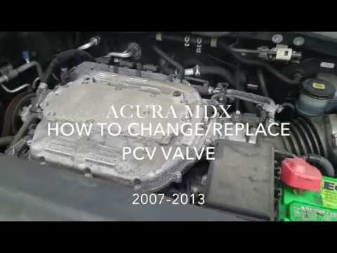 *DIY* HOW TO CHANGE REPLACE PCV VALVE ACURA MDX V6 2007-2013