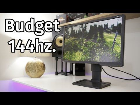 Benq Zowie XL2411 Review - Budget High Refresh Gaming? - YouTube