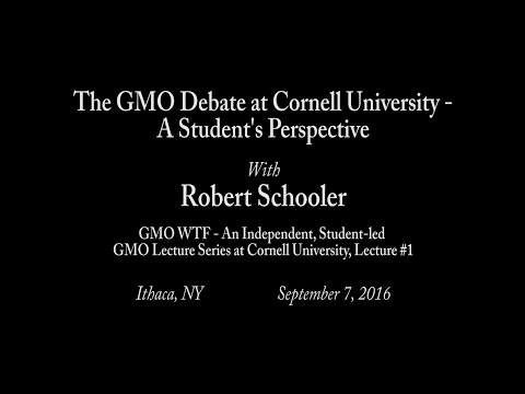 The GMO Debate at Cornell University - A Student's Perspective