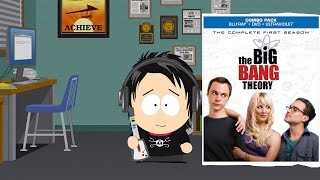 The Big Bang Theory Season 1 Blu-Ray/DVD/Ultraviolet Unboxing