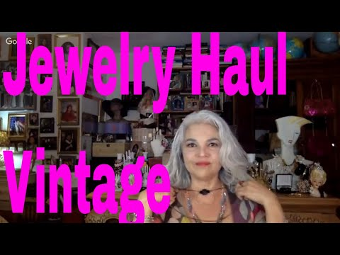 Thrift Haul Vintage Rock Tees & A Jewelry Jar Unboxing.