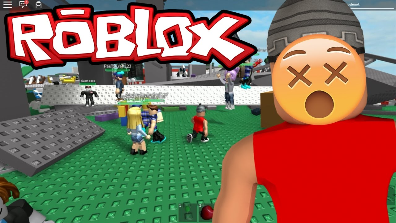 Jogo Roblox – Desafio Mortal ( Natural Disaster Survival ) Online Gratis