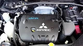 Запуск ДВС 4B12 Mitsubishi Outlander CW5W [Lan04]