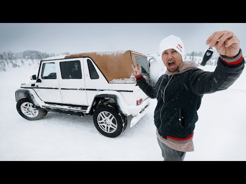 LET'S DRIFT A $750.000 MERCEDES G650!!!  | VLOG² 136