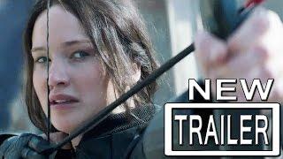 Mockingjay Part 1 The Hunger Games Trailer Official - Jennifer Lawrence