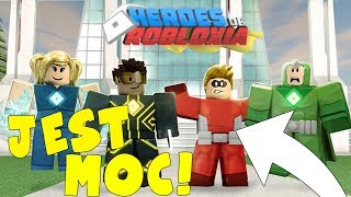 You can BE SUPER hero! | Heroes of Robloxia | ROBLOX #172