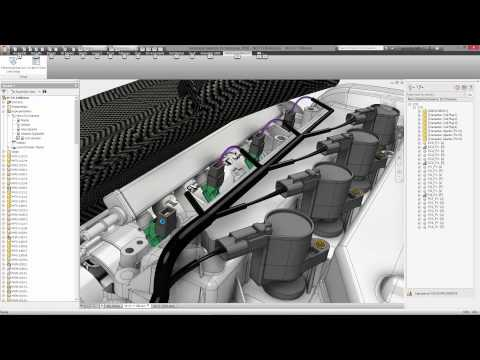 Autodesk Inventor Electromechanical workflow