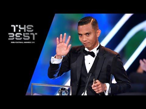 THE FIFA PUSKAS AWARD 2016 - Mohd Faiz Subri WINNER
