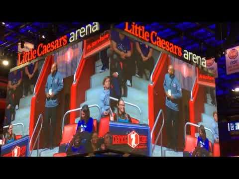 MrSan44Man @ The Little Caesars Arena For The Detroit Pistons Game Vs Cleveland Cavs (Detroit Raw)