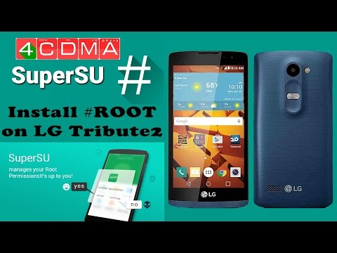 How to ROOT LG Tribute2 LS665 Sprint/Boost! ZV3/ZV4 Software
