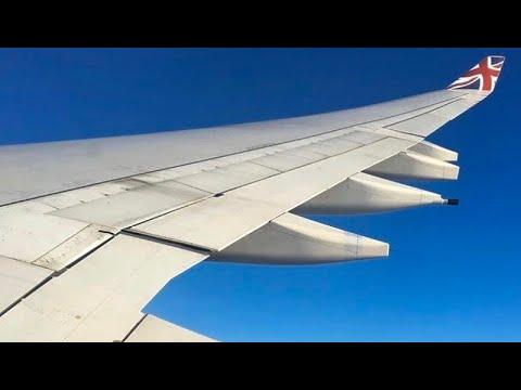 (HD) Virgin Atlantic A340-600 Landing, Boeing 787-9 Takeoff London Heathrow International Airport