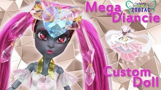 [POKEMON ZODIAC #2] Custom Doll Repaint! Mega Diancie Legendary Magical Girl MH/EAH OOAK