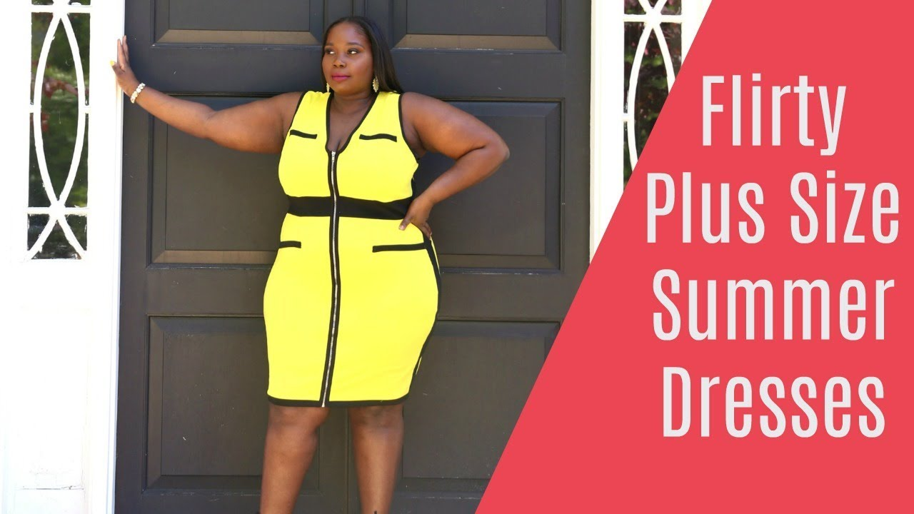 Chic Plus Size Summer Dresses From Fashion to Figure