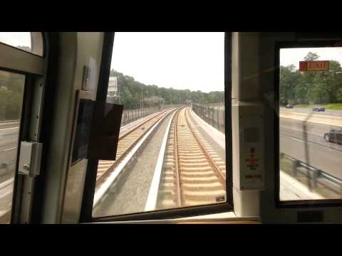 Riding New Metro Silver Line from Metro Center to Wiehle-Reston East