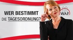 Betriebsratssitzung: Wer bestimmt die Tagesordnungspunkte einer BR-Sitzung?