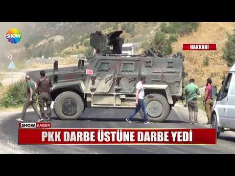 PKK darbe üstüne darbe yedi