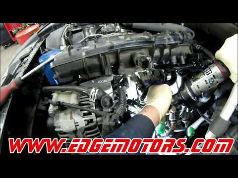 Audi A4 20T TFSI Water Pump and Thermostat Replacement DIY by Edge Motors  YouTube