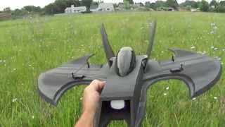 The (bat Wing) 70mm Edf Rc Jet. PDF Plans Foamconceptjets.com