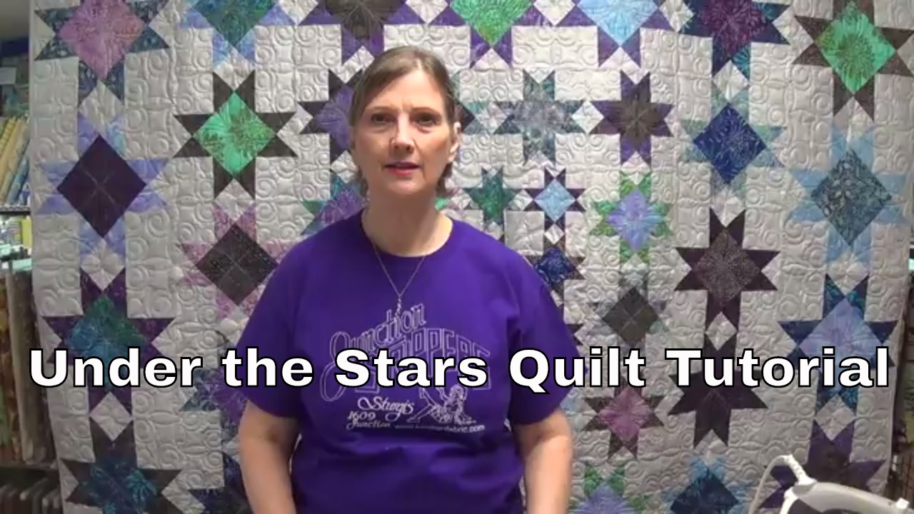 Under The Stars Quilt Tutorial By Www Junctionfabric Com