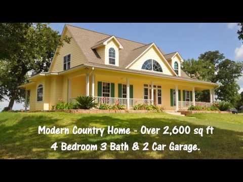 Country Living - 20 acres with Modern Home