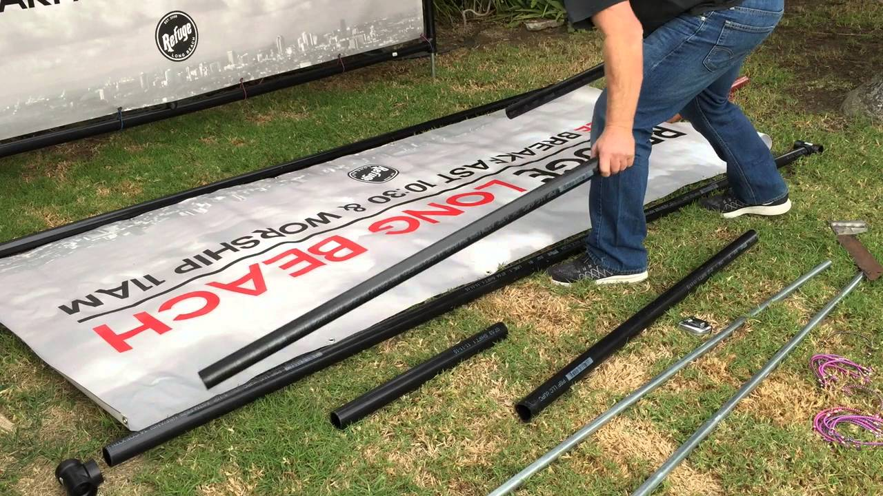 Rlb Sign Frame Building And Cutting Pvc Youtube