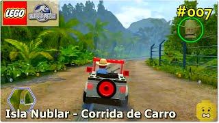 Lego Jurassic World - Isla Nublar - Corrida de carro
