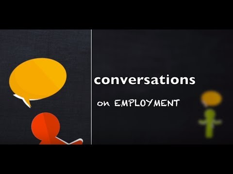 Conversations: Employment and Career Goals - YouTube