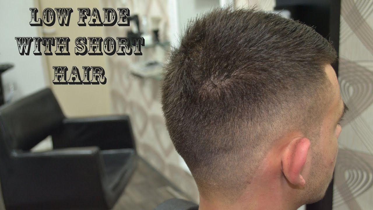 Low Fade With Short Hair Men S Haircut Youtube