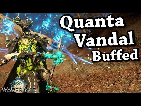 Warframe | Quanta Vandal [Buffed] (4 Forma Build)
