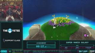 Super Mario Galaxy by 360Chrism in 2:36:51 AGDQ 2018