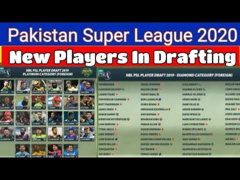 Psl 2020 Schedule PSL 2020 latest News / New Players / PSL 2020   YouTube