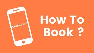 How to Book on Groubook?