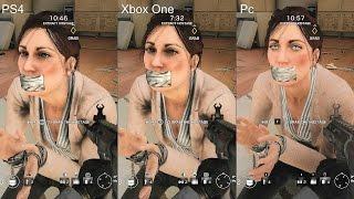 Rainbow Six Siege Ps4 Vs Xbox One Vs Pc Graphics Comparison