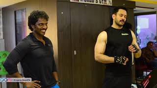 Ajith sir took guidance from Bharaths workout  Kaalidaas bharath  his Trainer Shiva open up