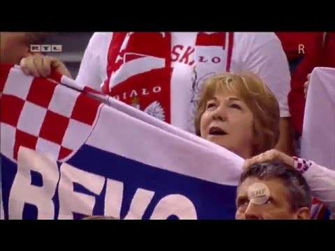 EHF EURO 2016 - Poland vs Croatia [23:37] - 27.01.2016 - Full Match