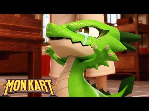 🐲 Monkart - Tập 36 Siêu Nhân Robot Biến Hình | Ô tô hoạt hình vui nhộn | Hoạt hình Siêu Nhân Rô Bốt